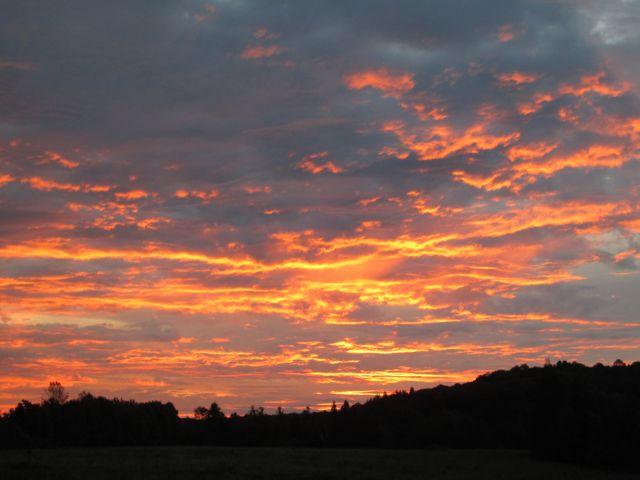 Another sunrise on the Range